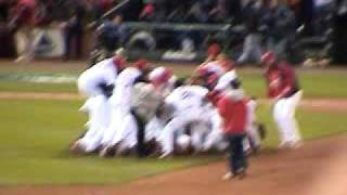 St. Louis Cardinals World Series Champions Game 5 top 9th Inning 2 outs