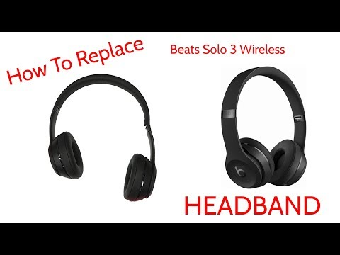 How To Repair Broken Headband Beats By Dre Solo 3 Wireless JoesGE