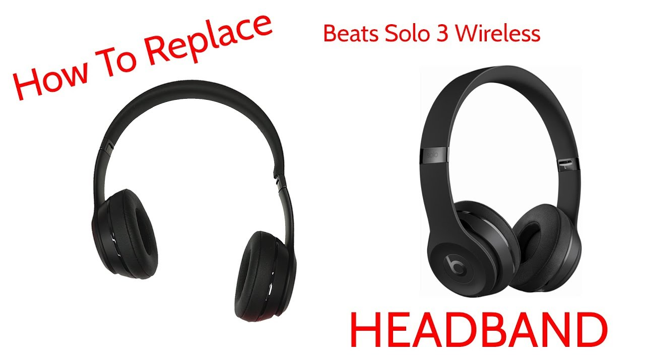 How To Repair Broken Headband Beats By Dre Solo 3 Wireless JoesGE
