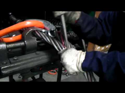 Tri State Wire Rope splicing 1-1/2' wire rope