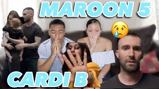 Download Lagu MAROON 5- GIRLS LIKE YOU FT. CARDI B MUSIC VIDEO REACTION Mp3