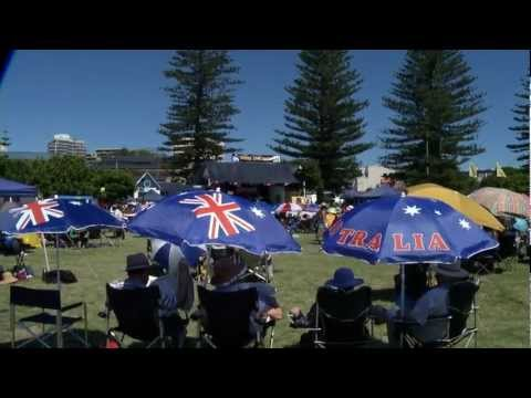 The official Entrance, Central Coast Country Music Festival 2012 Highlights