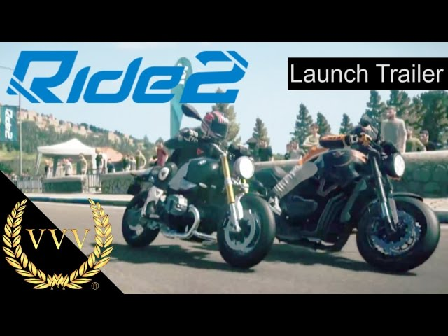 Ride 2 Launch trailer