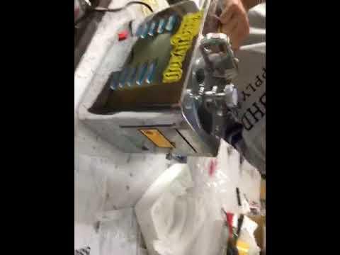 (58076 test video)Chinese Medicine Slicer Auto American Ginseng Slicer Nuts Herb Slicing Machine