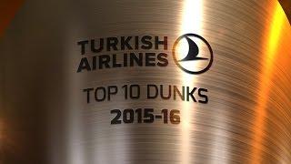 #FANSCHOICE Top 10 Dunks