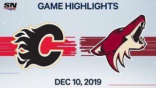 NHL Highlights   Flames vs. Coyotes – Dec. 10, 2019