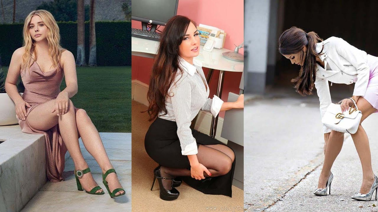 Download Women min dresses and high heel fashion