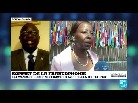 """Louise Mushikiwabo à l'OIF : """"C'est un mauvais message que le président Macron lance à l'Afrique"""""""