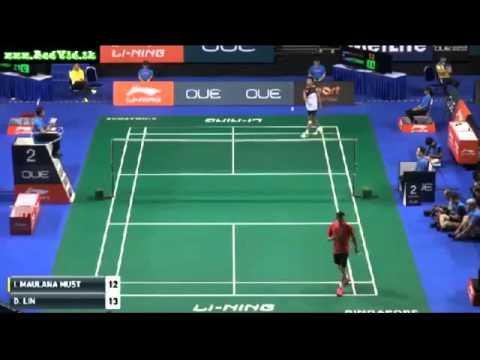 Singapore Open 2016 * R32 * MS * Lin Dan Ihsan Maulana Mustofa