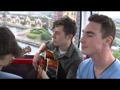 Don Broco perform on the Emirates Air Line