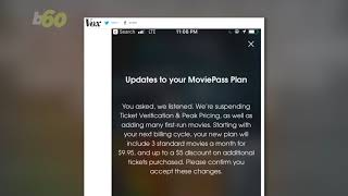 MoviePass Subscribers Take To Twitter To Say They Can't Cancel Accounts