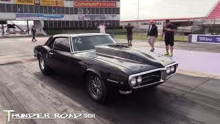 Beautiful 68 Firebird at Quick 30