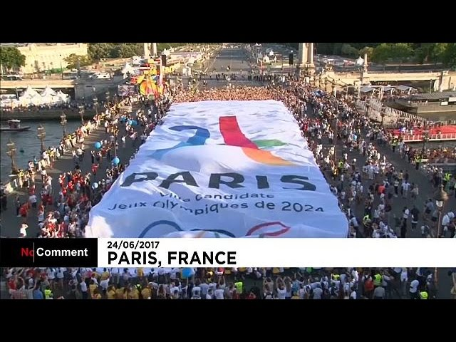 Paris makes big push to host 2024 Olympic Games