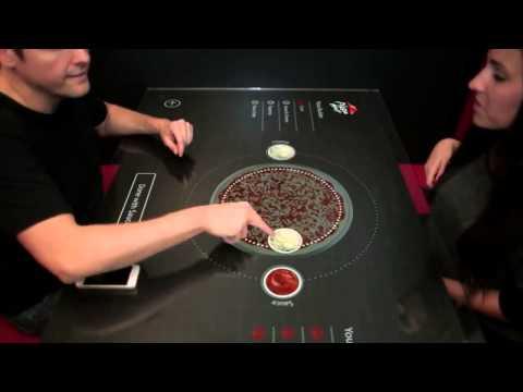 видео: itable для pizzahut (Интерактивный стол)