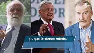 """Fox reaccionó en redes a la respuesta que dio AMLO a la misiva enviada por """"El Jefe Diego"""", quien retó al mandatario a citarlo en Palacio Nacional"""