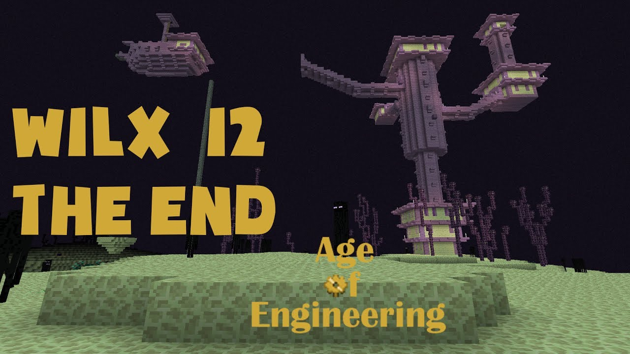 12 - Enchanted Dark Steel Armor with a Glider for the End