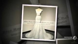 Vestido de Noiva кружевное свадебное платье с завязки элегантной русалки