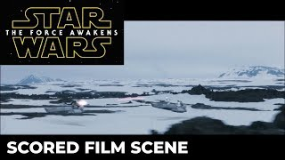 Scoring example: Star Wars The Force Awakens - Snow Speeder Chase