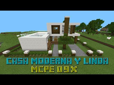 Minecraft pe mansi n moderna descarga doovi for Casa moderna minecraft 0 10 4