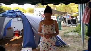 Minhtrang andja. Camping Pila. Punat Krk 22.07.2016