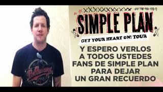 Simple Plan envía Saludos a Perú