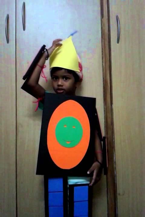 Shapes Rhyme Shapes Fancy Dress By Yashaswetha Youtube