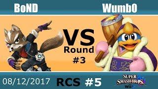 Baixar RCS #5 Smash Wii U - BoND (Fox) vs Wumb0 (Dedede, DK)