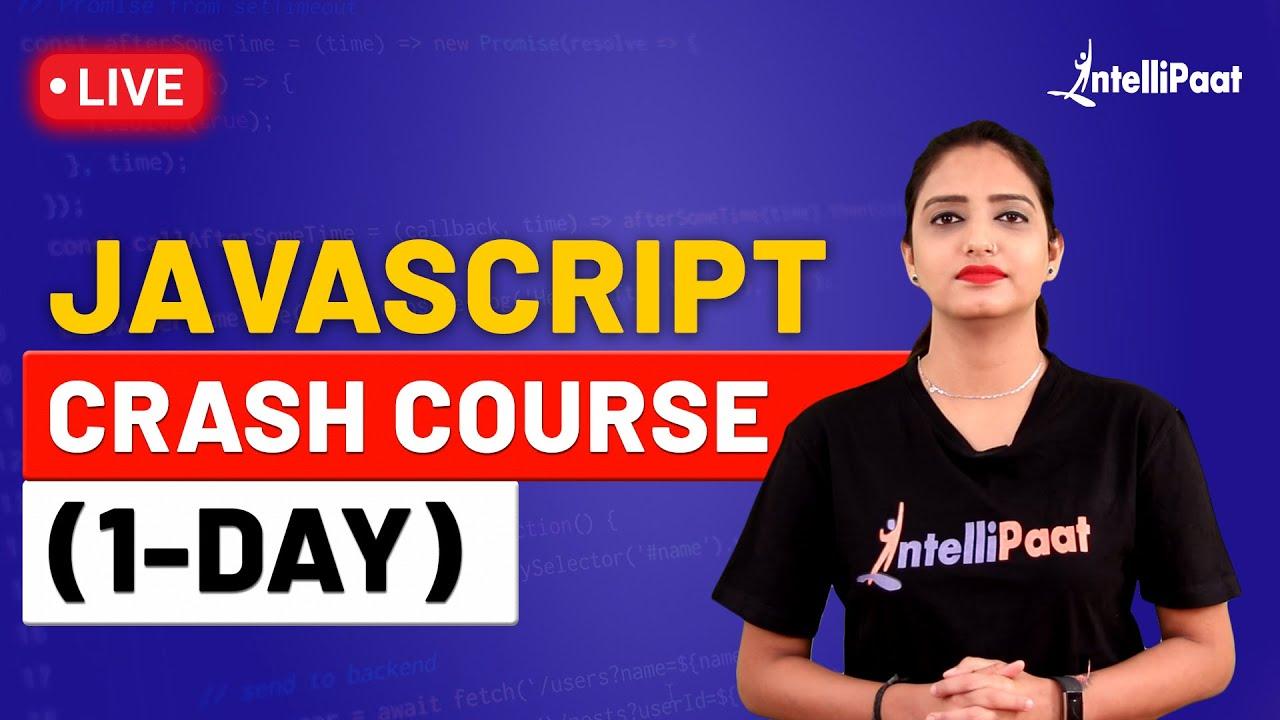 JavaScript Crash Course (1-Day) | JavaScript Full Course