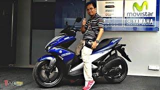 Review Ergonomi Yamaha Aerox 155