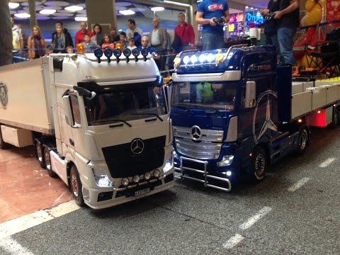 Camiones Rc en el centro comercial Tres Aguas 17-18 octubre 2015