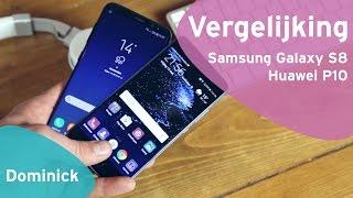 Samsung Galaxy S8 vs Huawei P10 review (Dutch)