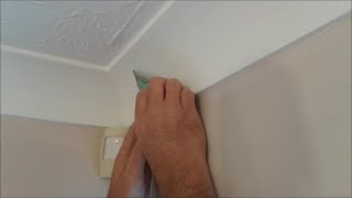 Paint cracking on coving
