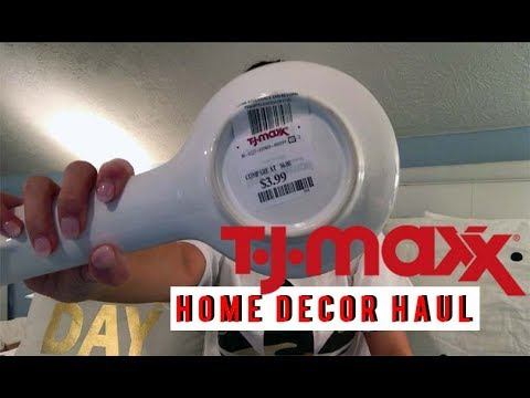Tj Maxx Home Decor Haul Pineapples Gold Youtube