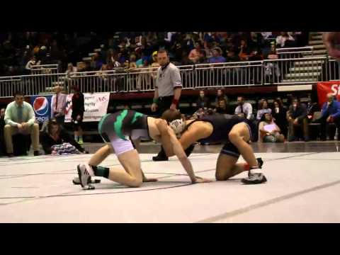 Wyoming High School State Wrestling Championships 2015 Lower Weight Classes - 2/28/15