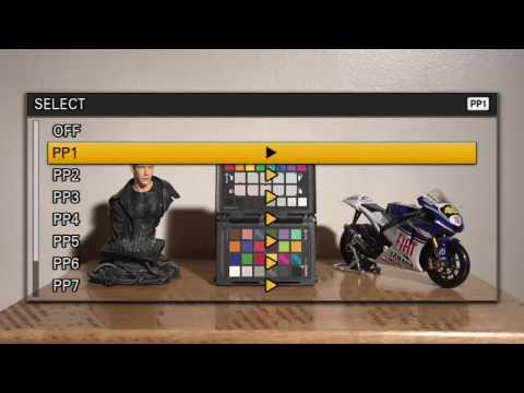 Sony FS5 - Cine Gamma Profile Adjustments and Colour Correcting
