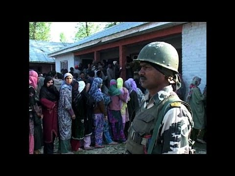 Final day of voting in Indian Kashmir