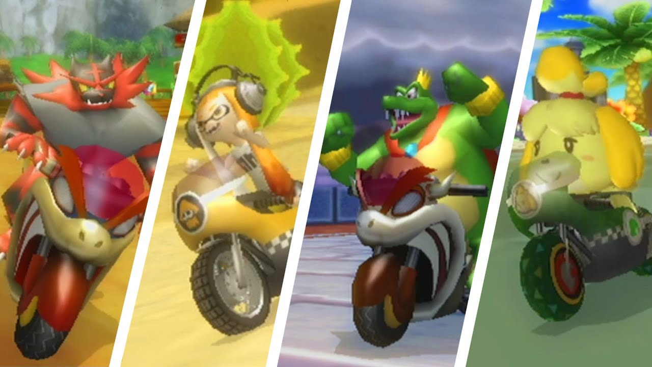 *New* Smash Bros Ultimate Characters in Mario Kart Wii!