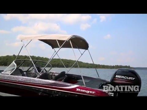 2016 Ranger 190LS Reata 19' Fish & Ski Boat Test