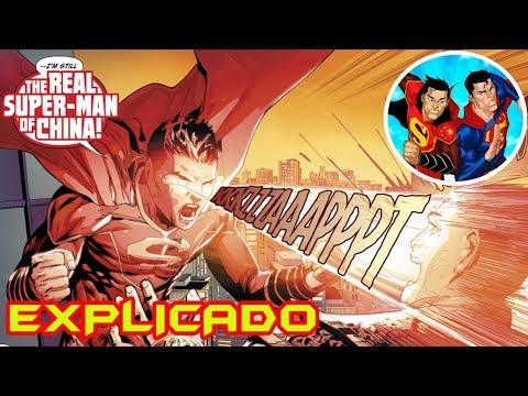 New Super-Man: ¿DC por fin CORTO DE IDEAS? (Superman chino EXPLICADO) | Qenk Geek #6