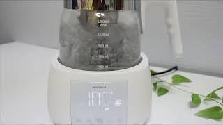 온도조절전기포트 원크라우드 스마트 전기보온포트 가성비 …