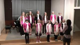 Pěvecký sbor ZUŠ Krnov zpívá: Aulis Sallinen -  Italia