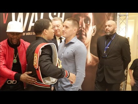 GERVONTA DAVIS v LIAM WALSH - OFFICIAL HEAD TO HEAD WITH COMMENTARY BY FLOYD MAYWEATHER