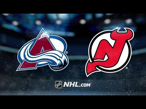 Colorado Avalanche Vs. New Jersey Devils   NHL Game Recap   October 7, 2017   HD