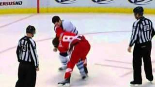 Darryl Boyce vs Justin Abdelkader Mar 26, 2011
