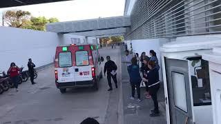 Arribo del primer paciente al nuevo Iturraspe 19/10/2019. Parte 1