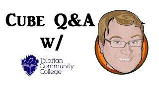 cube q with tolarian community college