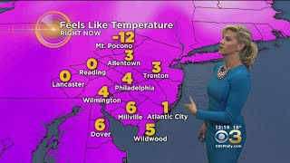 Monday Mid-Day Weather: Bitter Cold
