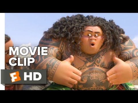 Moana Official Movie Clip - You're Welcome (2016) - Dwayne Johnson Movie