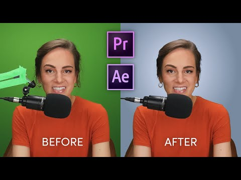 How to Fix Bad Green Screens in Adobe Premiere and After Effects 2020