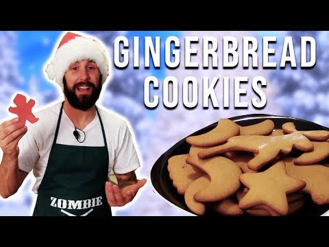 Easy Vegan Gingerbread Cookies – The Vegan Zombie